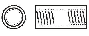 Plastic Phenolic Round Threaded Stand-offs