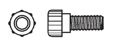 Plastic Thumb Screw Nylon