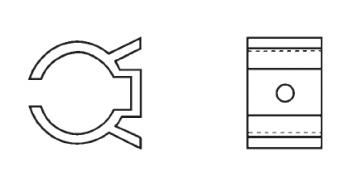 Plastic Component Clips