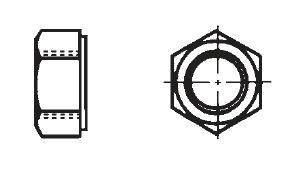8-32 x 1//4 Set Screw Flat Point Slotted BLACK Nylon Plastic Fastener S23075BK