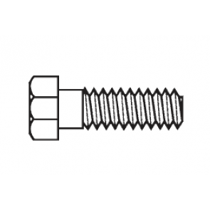 Plastic Hex Bolts