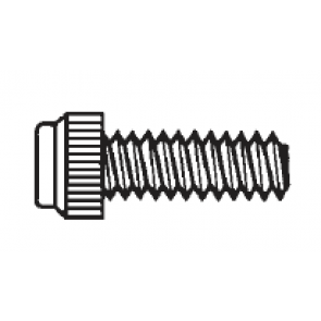 Plastic Economy Grade Thumb Screws, Unslotted